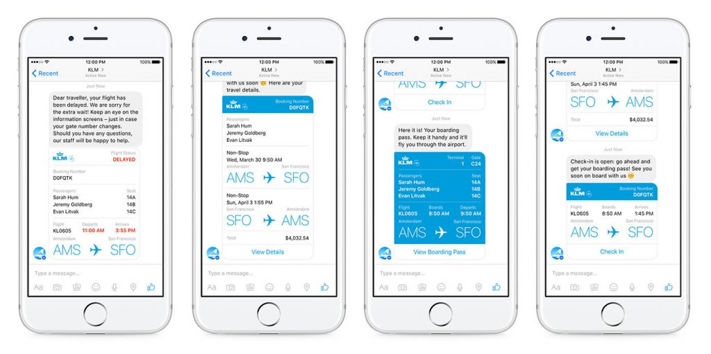 chatbots KLM